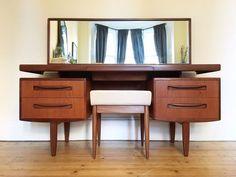 G Plan Fresco Desk / Dressing Table. Mid Century Modern Vintage. | Southside, Glasgow | Gumtree