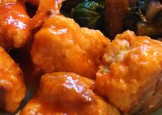 Well folks, this is it. The buffalo chicken that became a staple in our home every Friday night for years. I set out to replace the deep-fried take out boneless wings that we just couldn't li…