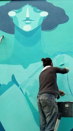 Zësar Bahamonte Street Artists, Movie Posters, Movies, Artist At Work, Films, Film Poster, Cinema, Movie, Film