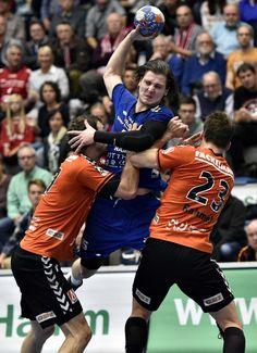 Joscha Ritterbach war mit sieben Treffer erfolgreichster Torschütze des ASV Hamm-Westfalen gegen Erlangen.