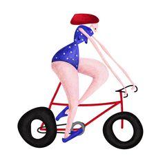 Let's go ride! 🚲  #illustration #art #artist #artwork #creativity #sketch #notebook #designer #instagood #books #instalike #instamood #instadaily #illustree #illustrator #illustrationartist #print #paper #like #miami #TataNova #Tataillustration #bike #bicycle #cycling #ride #ridemybike #biker