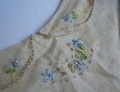 vintage Colchetes de pressão + pagaozinho com bordado Rococo
