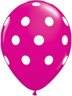Adorable pink balloon