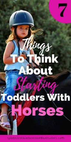 If you want to get your kid started with horses early as a toddler you are not alone. However, there are considerations and precautions you should take if this Horse Riding Tips, Horse Tips, Summer Activities For Kids, Lessons For Kids, Horse Training, Training Tips, Pony Rides, Western Riding, Riding Lessons