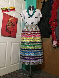 Waist Skirt, High Waisted Skirt, Ribbon Skirts, Sundresses, Beadwork, Sewing Patterns, Traditional, Crafts, Skirts