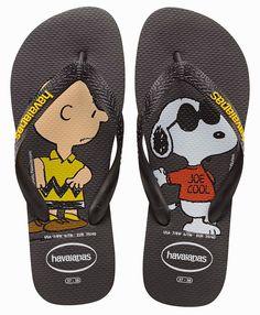 """65 anos de """"Peanuts"""": Havaianas e Vans do Snoopy   Just Lia"""