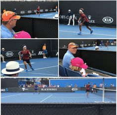 The good news continues from the @australianopen: after winning his first round singles round yesterday, @christian_didierallehz is now also through to his second round of doubles after he and his doubles partner, S. Banthia, beat A. Andreev & L. Weststrate 6/1 7/6 today. @johankriek was there to support Christian. Well done, keep it up! #ChristianDidierChin #JohanKriek #AustralianOpen #junior #grandslam #tennis #JohanKriekTennisAcademy #teamJKTA #elitetennisacademy…