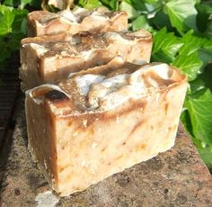 Honey and Oatmeal with Paprika Handmade Soap