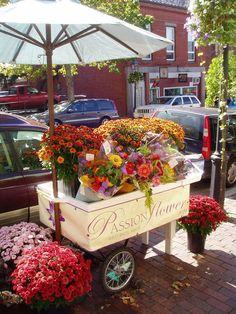 flower cart - Google Search