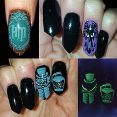 the haunted mansion  by Oli123 from Nail Art Gallery
