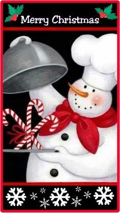 Snowman baker