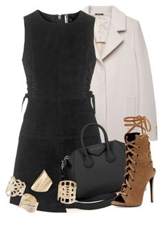 """Topshop x Givenchy"" by xxxxxxxx1111 ❤ liked on Polyvore featuring Maison Margiela, Topshop, Givenchy, Giuseppe Zanotti, NightOut, suede, topshop and fashionset"