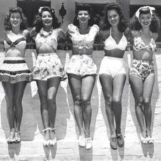 1940's Bathing Suits