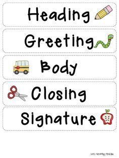 Related image Fourth Grade Writing, Kindergarten Writing, Writing Lessons, Writing Activities, Language Activities, Letter Writing Worksheets, Writing Letters, Work On Writing, Friendly Letter