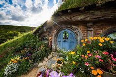 """Hobbiton"" is a movie set-turned-attraction that's a real life version of Middle-earth."