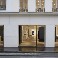 Remodeled Givenchy store in Paris by architect Jamie Fobert _