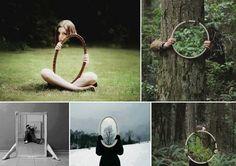 ayna ile Fotoğrafları