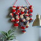 Easy DIY Wall Hangings | Red Heart