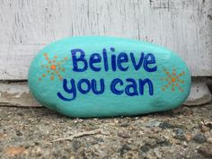 Top Painted Rock Art Ideas With Quotes You Can Do(45)