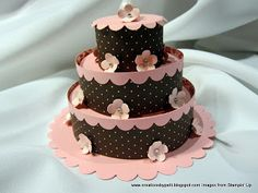 Creations by Patti: Tea Light Cake