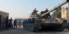 Syrian Rebels Claim To Break Assad's Siege Of Aleppo