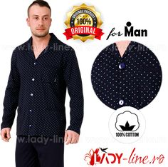 Pijamale Barbati De Calitate M-Max - Pijamale calitate superioara din bumbac 100%