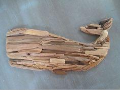 Driftwood Mobile, Driftwood Beach, Driftwood Art, Driftwood Projects, Scrap Wood Projects, Craft Projects, Driftwood Ideas, Deco Marine, Beach Crafts