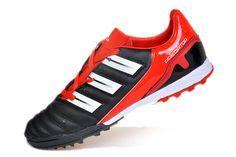 buy online 816fa 19b68 Adidas Predator Adipower TRX TF Soccer Shoes Black White Red