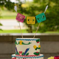 Fiesta Wedding Cake Topper