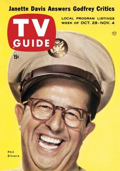 TV Guide, October 29, 1955 - Phil Silvers