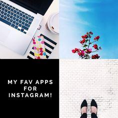my favorite apps for instagram