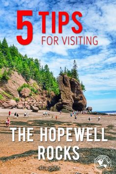 5 tips for visiting the Hopewell Rocks so you can get the most out of your visit! This is a must see video when visiting the east coast! Pvt Canada, Visit Canada, East Coast Travel, East Coast Road Trip, New Brunswick Canada, St John New Brunswick, New Brunswick Tourism, Canada Cruise, Canada Trip