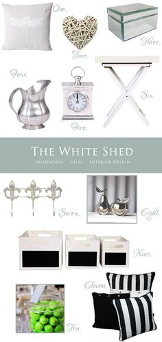 The White Shed - For All Your Modern Country Decor Needs: 20% Off Store-Wide + Up To 28% Off Sale
