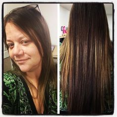 Mandy used our office to get the Diva ready for the science fair. As an added perk she straightened my hair. Dang it's getting long. #lifeofaneditor #leowife #seizethehairday