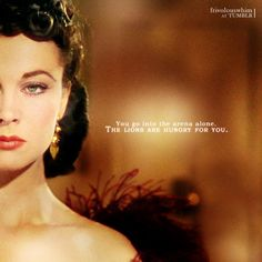 Scarlet O'Hara- might not be a real person, but she is one hell of a badass literary heroine!!