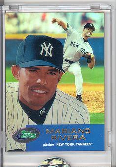 2001 ETOPPS IN HAND MARIANO RIVERA NEW YORK YANKEES WORLD SERIES CHAMPION