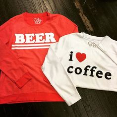 Coffee, beer or both?! Brand new at Details and oh so cozy! #iheartcoffee #beer #sosoft #socozy #boutiquelife #shoplocal #detailsboutique