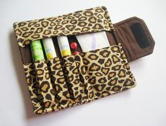 Tampon Clutch Plus Leopard Print by MyHappyHobbies on Etsy