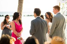 our wedding on aruba's private island, renaissance hotel, flamingo beach