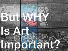 Cornwell Fam: But WHY Is Art Important? Well said, great links and examples of how art is intertwined with the human experience. Art helps us relate to our world, events, ideas and our feelings about them. High School Art, Middle School Art, Why Is Art Important, Importance Of Art, Art Handouts, Art Criticism, Art Worksheets, Arts Integration, Art Curriculum