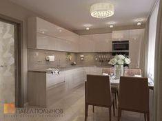 Фото интерьер кухни из проекта «Интерьер 3-х комнатной квартиры в современном стиле на пр. Просвещения, 60 кв.м.»