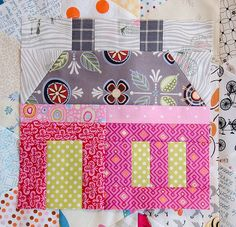 Here is the next block in the Random Sampler QAL, the Manor House. I love house quilts. So I had to include a house block, right? Plus, we are hooked on the Downton Abbey series. Are you? I&#8217…