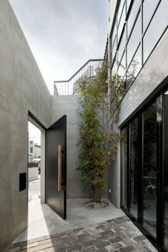 Architecture Beast: Door designs: 40 modern doors perfect for every home… Architecture Durable, Interior Architecture, Chinese Architecture, Futuristic Architecture, Sustainable Architecture, Landscape Architecture, Entrance Design, Entrance Doors, Front Doors