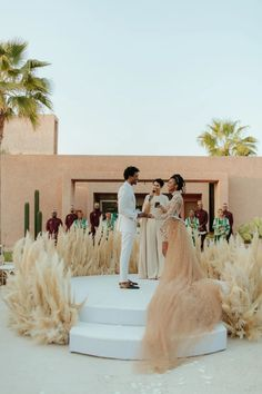 Burning Sage and the Sounds of a Moroccan Drum Greeted Guests at This Wedding in Marrakech | Vogue