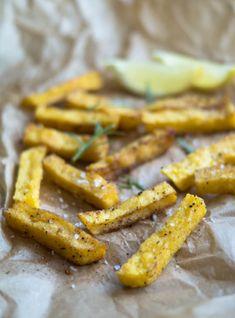 Sundere fritter – polenta fritter…