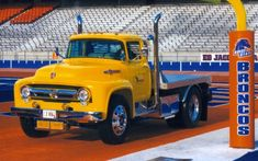 Readers' Rides From Crazy Custom to Bone Stock - Truck Trend 1956 Ford Truck, Old Ford Trucks, Ford Tractors, Dump Trucks, Pickup Trucks, Custom Flatbed, Little Truck, Jeep Cj7, Old Fords