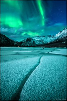 °The Line ~ Lofoten, Norway by Christian Bothner