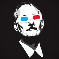 Bill Murray in 3D ...very cool!