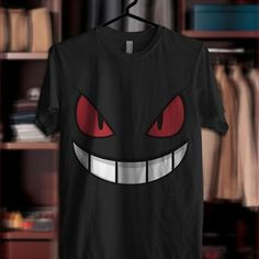 Pokemon Gengar Smile t shirt available for all size Youth Tshirt Men and Women Tshirt Clothing