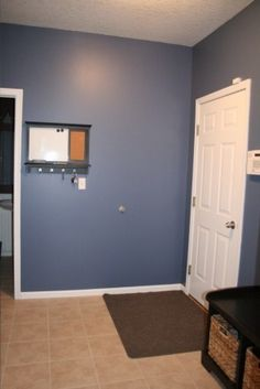 Behr Lost Atlantis THIS is the color in Toine & Kat's kitchen & I love that, looks different here! Room Wall Colors, Bedroom Colors, Dining Room Walls, Paint Colors For Home, Behr, Atlantis, House Painting, My House, Paint Palettes